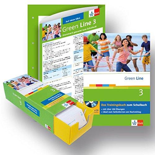 Green Line 3 - Lern-Set: Paket (enth. Trainingsbuch, Vokabel-Lernbox, Auf einen Blick Grammatik)