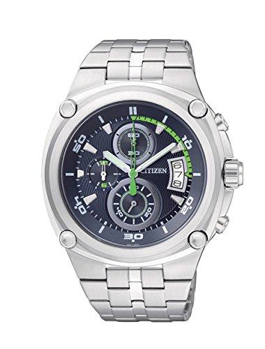 שעון יד Citizen Men's AN3450-84L Analog Display Japanese Quartz Silver Watch