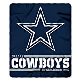 Northwest NFL Dallas Cowboys 50×60 Fleece Split Wide DesignBlanket, Team Colors, One Size
