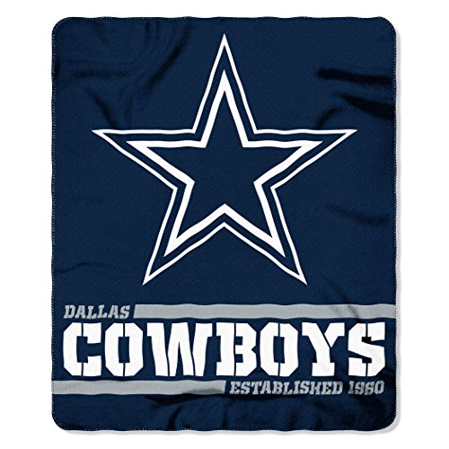Northwest NFL Dallas Cowboys 50×60 Fleece Split Wide DesignBlanket, Team Colors, One Size