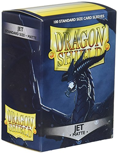 Dragon Shield Deck Protective Sleeves for Gaming Cards, Standard Size (100 sleeves), Matte - Standard 100 Card