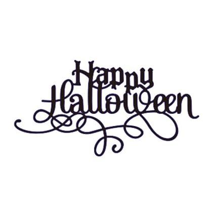 halloween theme metal cutting dies stencil metal template for diy scrapbook album paper card happy