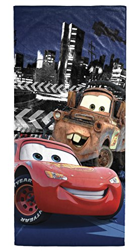 Disney/Pixar Cars 3 Nitrode City Beach/Bath/Pool Cotton Towel, 28