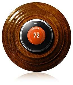 Nest Thermostat Wall Plate - Classic Golden Oak