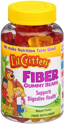 L'il Critters fibre Gummy Bears, 90 comte
