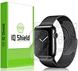 Apple Watch Series 2 Screen Protector (42mm), IQ Shield LiQuidSkin Full Body Skin + Full Coverage Screen Protector for Apple Watch Series 2 HD Clear Anti-Bubble Film - with