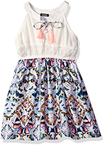 kensie Girls' Casual Dress (More Styles Available), 2850 Multi, 12 from kensie