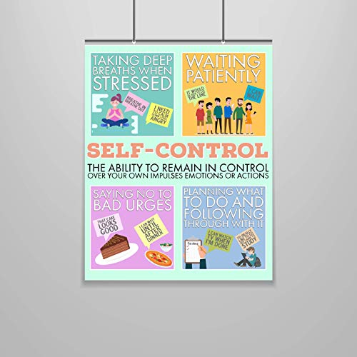 Self Control Poster - Character Building - 16