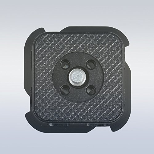 Universal/Small Camera Quick Release Plate for Click Camera Holster by Turbo Ace