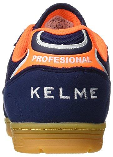Inexpensive online best seller sale online Kelme Unisex Adults' Trueno Sala Low-Top Sneakers Blue (Marino / Naranja) cheap sale shopping online EusriGopp5