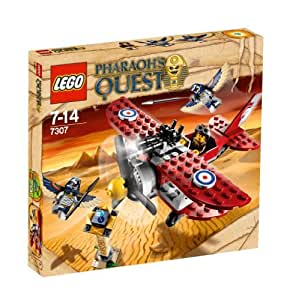 LEGO Pharaoh's Quest 7307 Flying Mummy Attack  - Ataque aéreo a la momia [versión en inglés]