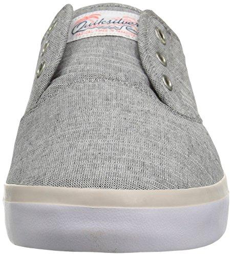 Shoe Quiksilver White Grey Shorebreak Skateboarding Grey Men's Deluxe IIHCw