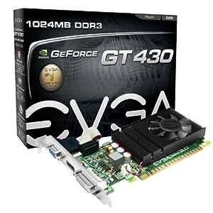 Evga GeForce GT 430 1024 MB DDR3 PCI Express 2.0 DVI/HDMI/VGA Graphics Card, 01G-P3-1430-LR