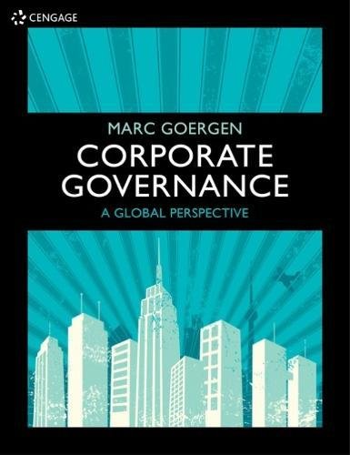Ebook Corporate Governance: A Global Perspective Pdf Epub