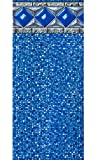 30-Foot Round Crystal Tile Liner   Unibead Style   54-Inch Wall Height   25 Gauge Virgin Vinyl   Designed for Steel Sided Above-Ground Swimming Pools