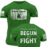 Grunt Style Enlisted 9 Appeal To Heaven Men's T-Shirt, Color Kelly Green, Size XL