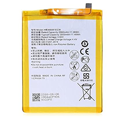 Just Mobile HB366481ECV Battery for Huawei P9 Backup: Amazon