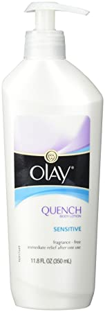 Olay Quench Sensitive Body Lotion Pump – 11.8 Ounce