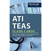 ATI TEAS Flash Cards: TEAS 6 Test Prep Including Over 400 Flash Cards for the Test of Essential Academic Skills Exam, Sixth Edition