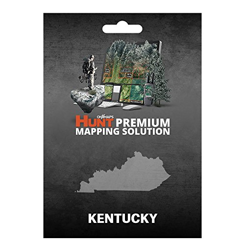 onXmaps HUNT Kentucky: Digital Hunting Map For Garmin GPS + Premium Membership For Smartphone and Computer Color Coded Land Ownership 24k Topo Hunting Specific Data