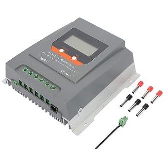 Controlador de cargador solar, 30A MPPT 12V / 24V LCD ...