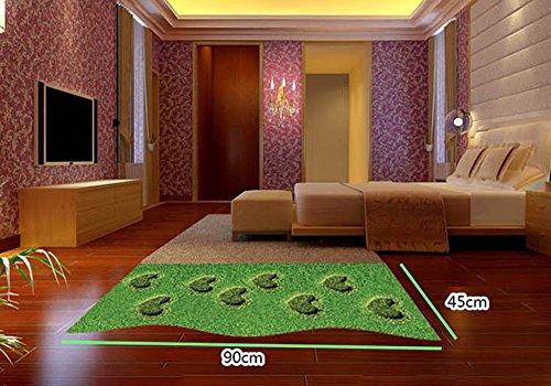 Fangeplus Tm 3d Grass Floor Sticker Diy Removable Art