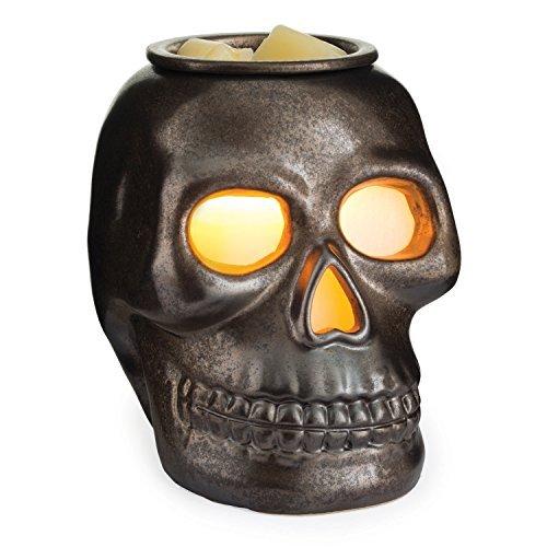 Candle Warmers Etc. Illumination Fragrance Warmer, Skull