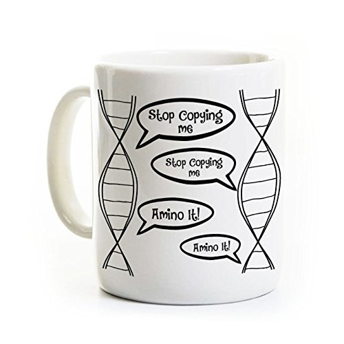 DNA Biology Coffee Mug - Funny Biology Mug Gift - Biology Student Gift Lab Scientist Coffee Mug, Original Design, Can be - Labs Dna