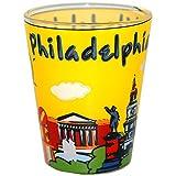 Philadelphia PA Skyline and Famous Landmark Souvenir Shot Glass