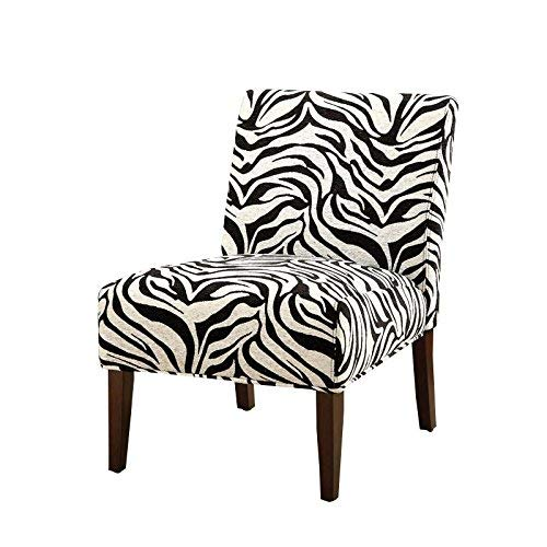 Zebra Accent Chair - ACME 59069 Aberly Accent Chair
