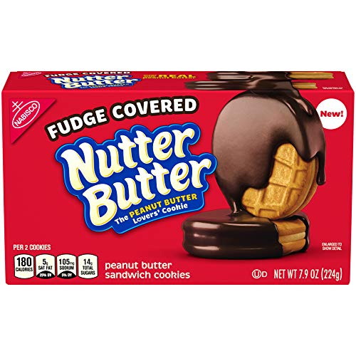 Nutter Butter Chocolate Fudge Cookies, 7.9 Oz.