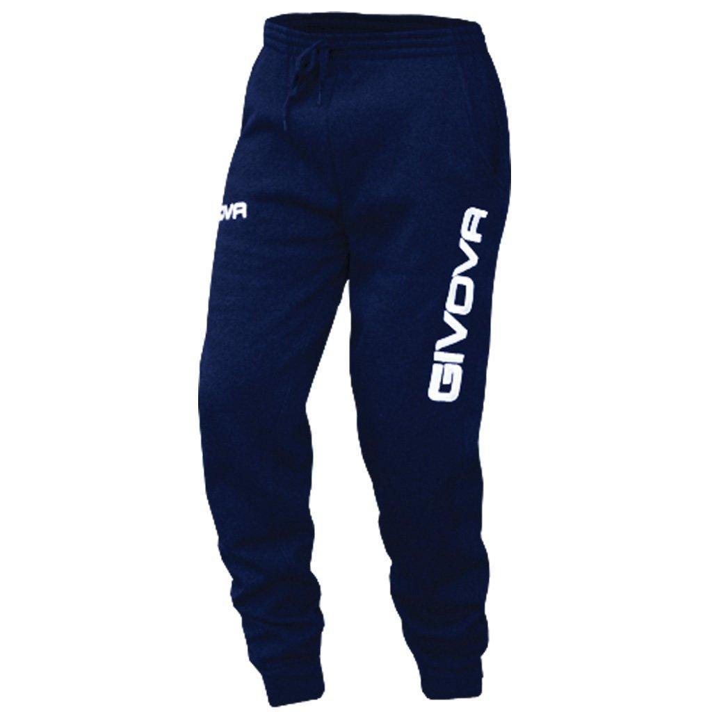 TALLA 2XL. Givova,  pantalones    de algodón mod. moon, azul , 2XL