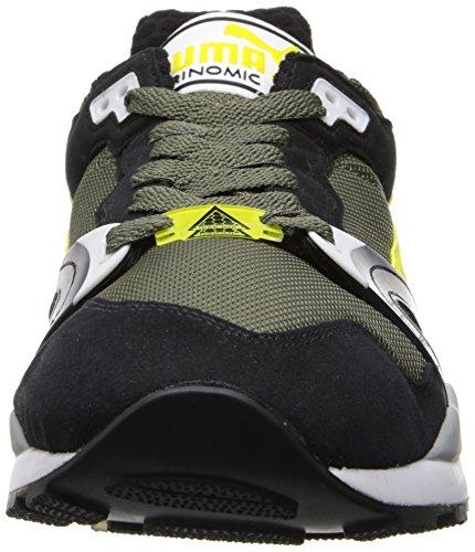 Puma Men's Trinomic XT 2 Plus Classic Sneaker Burnt Olive / Black / Ceylon Yellow OJRxaSh