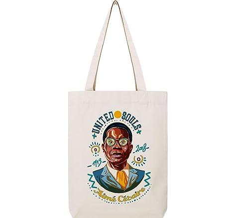 United Souls Cesaire Magnet Tote Bag: Amazon.co.uk: Kitchen