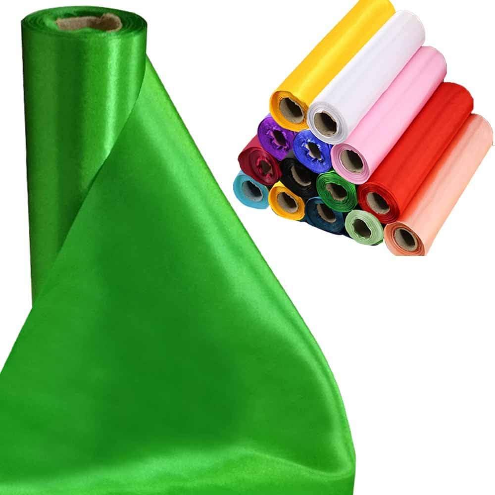 Green Apple Organza Fabric Table Runner Wedding Party Decoration Chair Sash