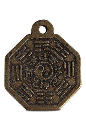 Asien Lifestyle asien lifestyle yin und yang anhänger aus bronze jing jang