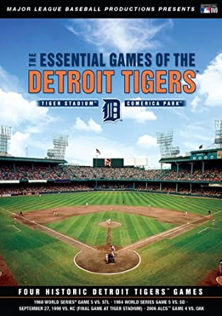 c8f8c6a142 Amazon.com: Essential Games Of The Detroit Tigers [DVD]: Mickey ...