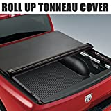 Super Drive RT015 Roll & Lock Soft Tonneau Truck Bed Cover For 1999-2011 Ford F250/F350/F450 Super Duty 6.5ft Short Bed