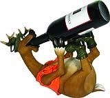 Rivers Edge Hand Painted Deer Wine Bottle Holder