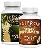 Exir -The Smart Natural Appetite Suppressants, Clinically Proven, Weight Loss, Mood Support Stress Reduction Total 180 Caps