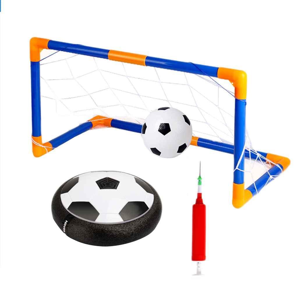 Mengonee La luz LED de bolas intermitente juguetes Air Power Balones de fú tbol multi-superficie de cernido de fú tbol con el baló n de fú tbol Puerta inflable