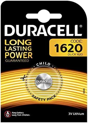 3 x 1er Blister bis 2024 3 x Duracell Lithium DL1620 CR1620