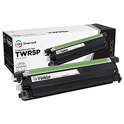 LD © Compatible Dell 331-8434K / TWR5P / 59J78 Black Laser Drum Unit for use in Color Laser C2660dn, C2665dnf, C3760dn, C3760n & C3765dnf