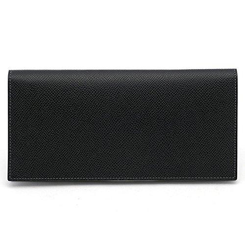 [メゾンドヒロアン] MAISON de HIROAN 長財布 ボレロ 日本製 B01N9EX2BL ブラック ブラック -