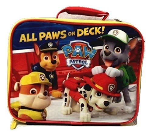Nickelodeon Paw Patrol Insulated Lunch Bag Elementary Junior High Backpack