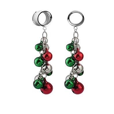 Amazon.com: JIAPEIJIA - Dilatadores de colores navideños (6 ...
