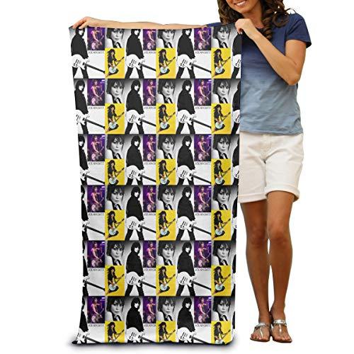 Beach Pool Towel 100% Polyester Fabric Microfiber Joan Bad Reputation Jett - Multi Color Towels With High - Jett Golf
