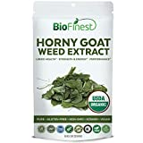 Biofinest Horny Goat Weed Extract Powder - for Men and Women - Epimedium Extract - Organic Pure Gluten-Free Non-GMO Kosher Vegan Friendly - Supplement for Healthy Bone, Energy, Performance (250g) BioFinest