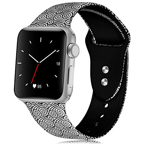 KOLEK Wristband Compatible for iWatch 38mm 40mm, Band for Women for iWatch 1/2/3/4, S/M