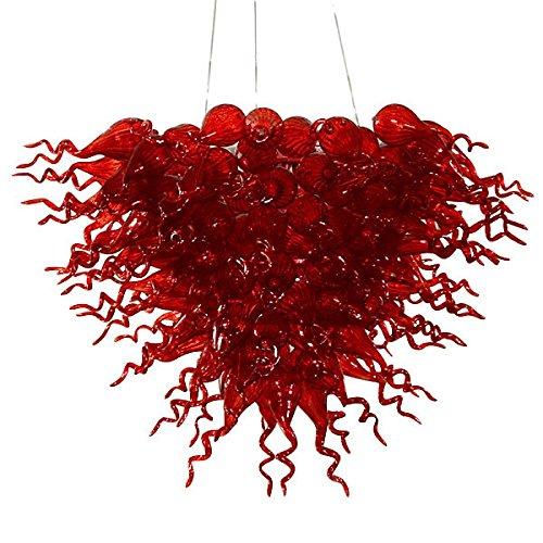 Paradigm Design Large Red Burst Chandelier -